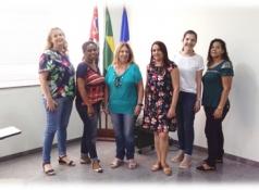 Reunião com as coordenadoras e diretoras das escolas participantes e Diretoria de Ensino